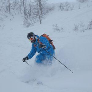 Freeride a Sella Nevea nelle Alpi Giulie