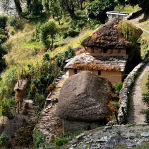 Nepal, case di contadini. Ordine, pulizia e dignità