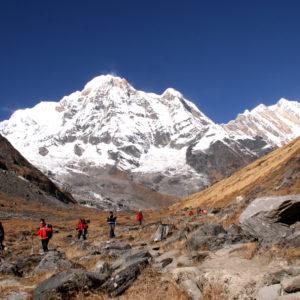 Nepal, trekking del Santuario dell'Annapurna. Di rientro dal Campo Base dell'Annapurna