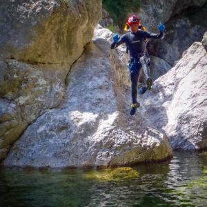 Piccolo salto sul rio Favarinis
