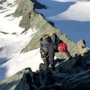 Sul filo di cresta lungo la Studlgrat al Grossglockner