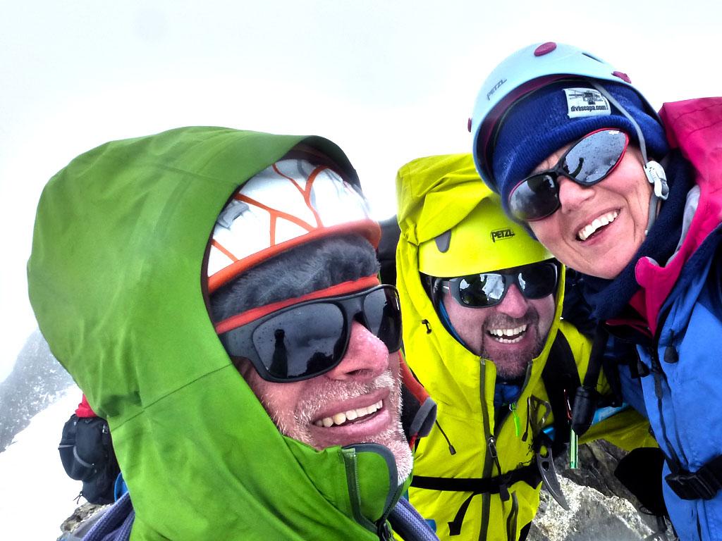 Traversata dell'Aiguille Marbrèe nel gruppo del Monte Bianco