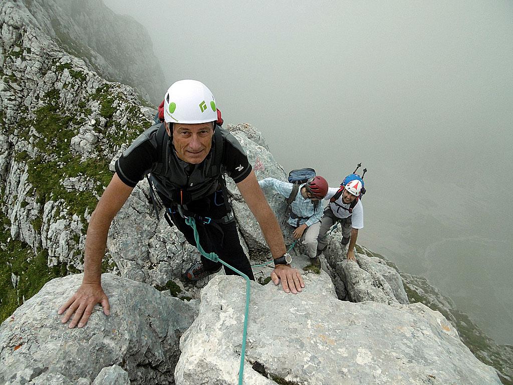 L'Altavia Resiana che porta fino alla cima del Canin, nelle Alpi Giulie, lungo un itinerario aereo e panoramico come pochi