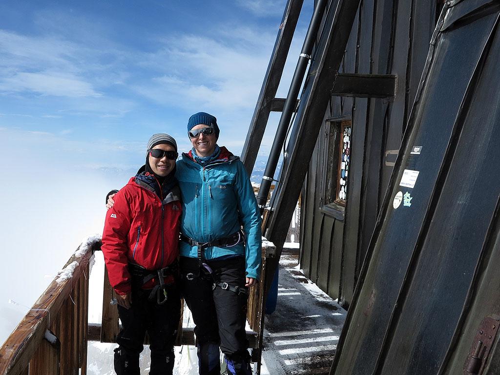 La Capanna Margherita alla Punta Gnifetti sul Monte Rosa è il rifugio più alto d'Europa