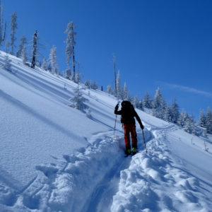 Dopo una bellissima nevicata nei Monti Tatra