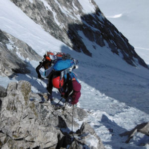 Chamonix Zermatt - Grand Lui. Raggiungendo il Colle del Grand Lui