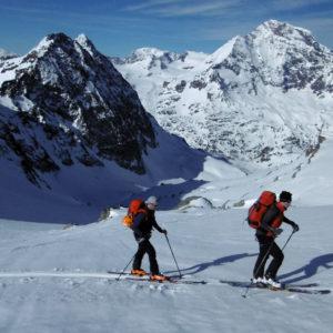 Lungo la Chamonix Zermatt