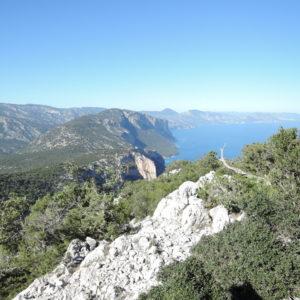 Selvaggio Blu, in discesa verso Cala Goloritzè