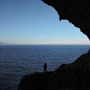 Selvaggio Blu, verso l'Arco su Feilau