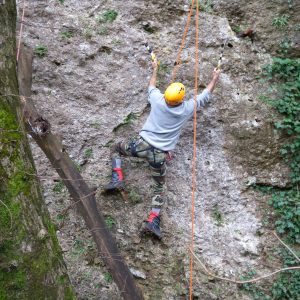 Prove di arrampicata in Dry Tooling