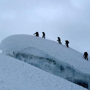 In cima al Nevado Paz y Bien