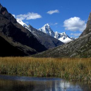 Lungo il trekking di Santa Cruz verso l'Alpamayo