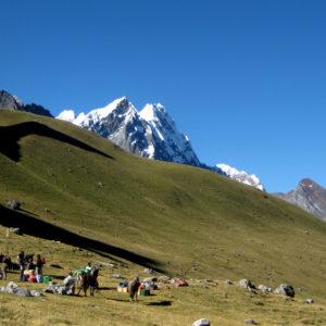 Trekking del Huayhuash, località perfetta per il campo
