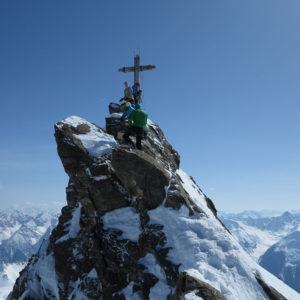 Scialpinismo in Silvretta - La vetta del Dreilenderspitze
