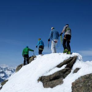 Scialpinismo in Silvretta lungo la cresta del Dreilenderspitze