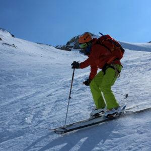 Scialpinismo in Stubai