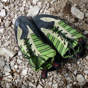Le ottime scarpette di arrampicata della Wild Climb
