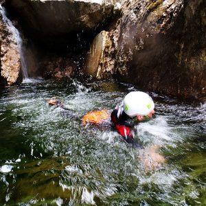 Canyoning lungo il Rio Susec in Slovenia
