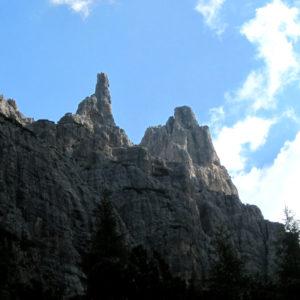 Le guglie delle Dolomiti Friulane dal Rif Padova