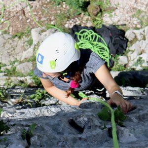 Primi passi nell'arrampicata sportiva
