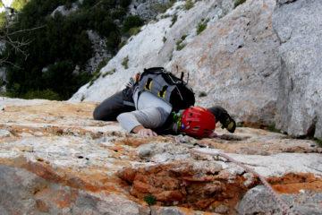 Sul fantastico calcare di Paklenica in Croazia