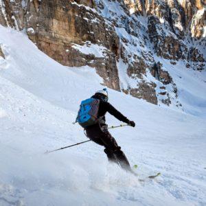 Sciando sull'alta Val Fonda