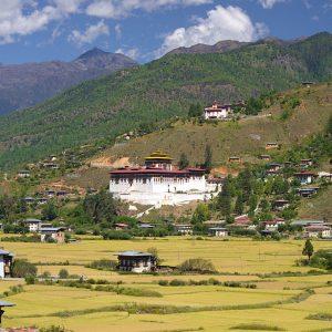 Monastero in Bhutan