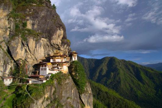 Monastero di Taktsan in Bhutan