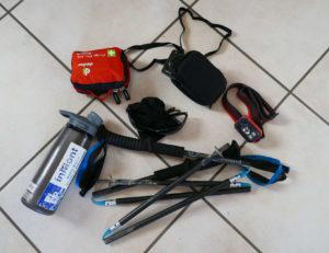 Alcuni materiali da portare per l'arrampicata sportiva in falesia