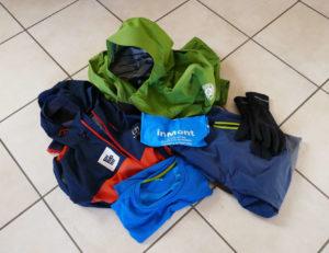 Alcuni capi di vestiario da utilizzare durante i trekking e le vie ferrate