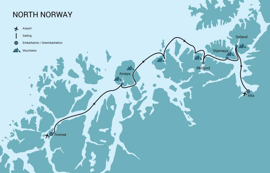 Ski&Sail Tromso - Alta