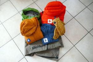 Alcuni capi da utilizzare durante le uscite di scialpinismo su ghiacciaio