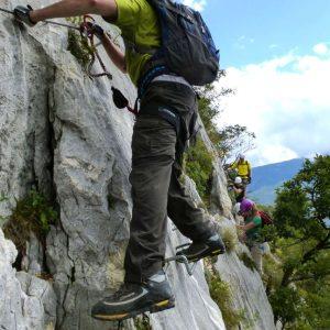 Via Ferrata Fausto Susatti a Cima Capi - Arco di Trento