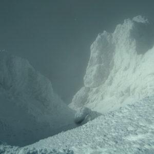 Visione Himalayana dalla cima del Cavallo in inverno