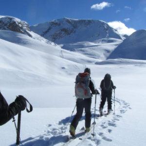 Verso il Rif Senes in Dolomiti