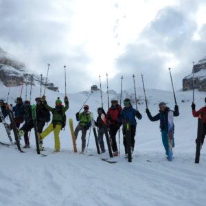 Nel Cadin di Croda Rossa in Dolomiti