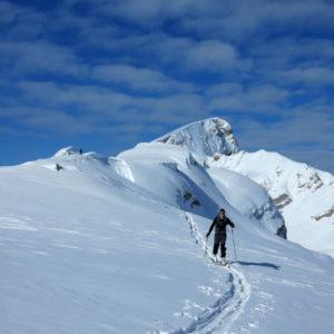 Verso il Rosskopf in Dolomiti