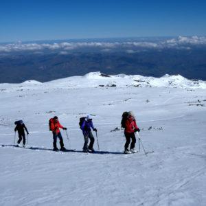 Dolci pendii da risalire sull'Etna
