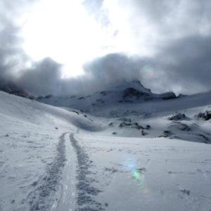 verso il ghiacciaio del Gran Paradiso