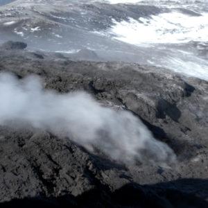 Fumarole sull'Etna