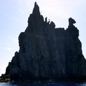 L'isola di Strombolicchio nelle Eolie