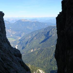 Alpi Giulie - Gola NordEst - Jof Fuart - Scorcio