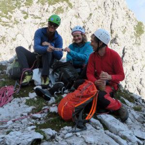 Alpi Giulie - Gola NordEst - Jof Fuart - Pausa