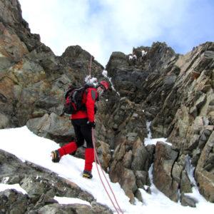 Calate sulla normale del Piz Bernina