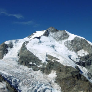 Il Pizzo Bernina visto dal Diavolezza