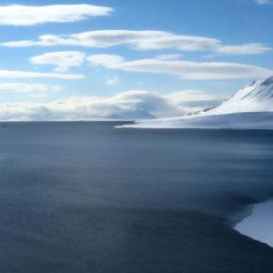 Il Rembrandt nella cornicie delle isole Svalbard