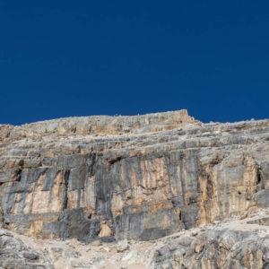 Uno sguardo verso la cima del Pelmo